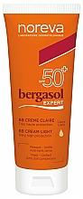 Kup Krem BB do twarzy SPF 50+ - Noreva Laboratoires Bergasol Expert BB Cream Light SPF50+