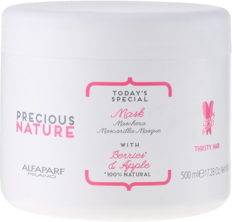 Maska do włosów suchych i matowych Jagody i jabłko - Alfaparf Precious Nature Mask For Thirsty Hair — фото N1