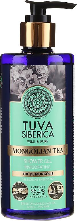 Orzeźwiający żel pod przysznic Mongolska herbata - Natura Siberica Tuva Siberica Mongolian Tea Invigorating Bio Shower Gel  — фото N1