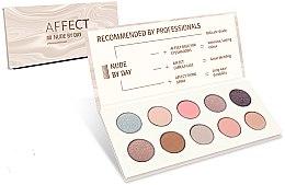 Kup Paletka prasowanych cieni do powiek - Affect Cosmetics Nude By Day Eyeshadow Palette