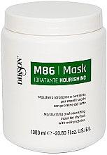 Kup Nawilżająco-odżywcza maska do włosów suchych z proteinami mleka - Dikson M86 Moisturizing And Nourishing Mask For Dry Hair With Milk Proteins