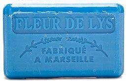 Kup Marsylskie mydło w kostce Lilia - Foufour Savonnette Marseillaise Fleur de Lys