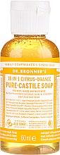 Kup Mydło w płynie Cytrusy i pomarańcza - Dr. Bronner's 18-in-1 Pure Castile Soap Citrus & Orange