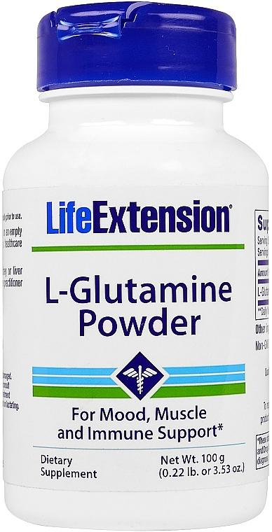 L-glutamina w proszku - Life Extension L-Glutamine Powder — фото N1