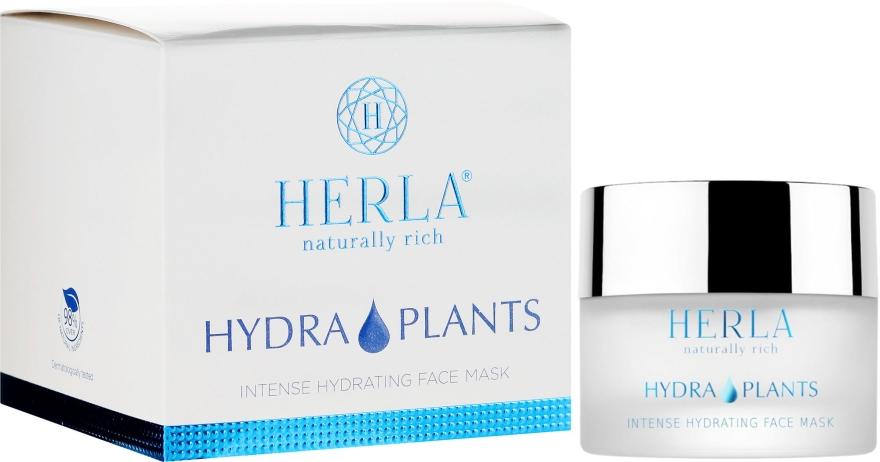 Intensywnie nawilżająca maska do twarzy - Herla Hydra Plants Intense Hydrating Face Mask — фото N1