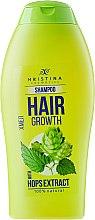 Kup Naturalny szampon wspomagający wzrost włosów Chmiel - Hristina Cosmetics Hair Growth With Hops Extract Shampoo