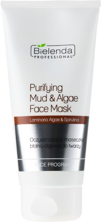 Oczyszczająca maseczka błotno-algowa do twarzy - Bielenda Professional Face Program — фото N1