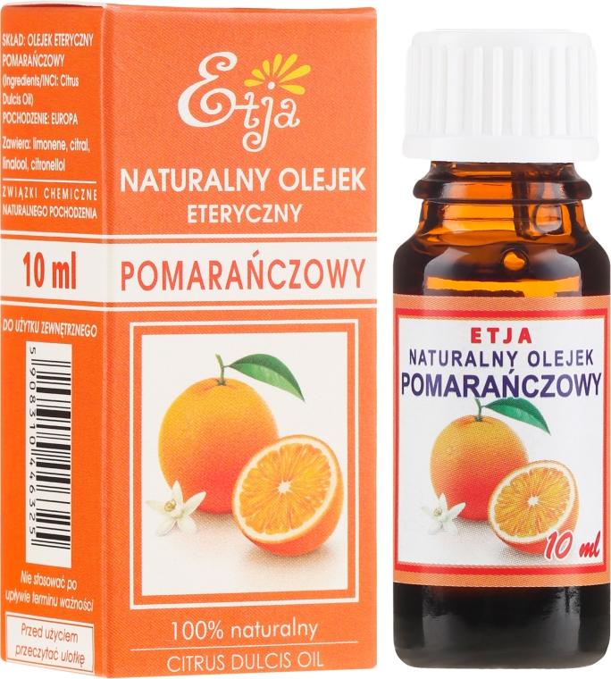 Naturalny olejek pomarańczowy - Etja Natural Citrus Dulcis Oil