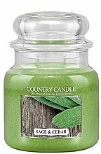 Kup Świeca zapachowa - Country Candle Sage and Cedar