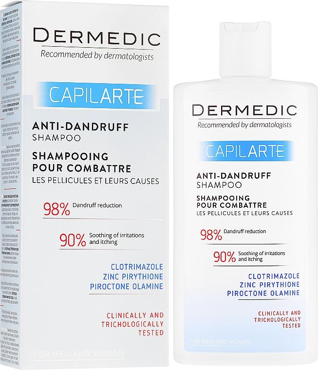 Szampon zwalczający łupież i jego przyczyny - Dermedic Capilarte