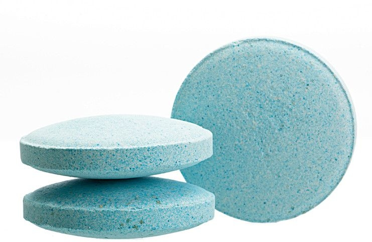 Musujące tabletki do kąpieli Błękitna laguna - Thalgo Lagoon Water Bath Pebbles — фото N1
