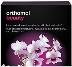 Kup Witaminowe ampułki do picia z kolagenem i kwasem hialuronowym - Orthomol Beauty