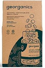 Kup Naturalne tabletki do płukania jamy ustnej Angielska mięta - Georganics Natural Toothtablets English Peppermint (wymienny wkład)