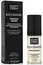 Kup Przeciwzmarszczkowe serum do twarzy - MartiDerm Black Diamond Proteum Serum
