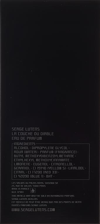 PRZECENA! Serge Lutens La Couche Du Diable - Woda perfumowana * — фото N3
