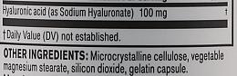 Kwas hialuronowy w kapsułkach na zdrową skórę, stawy i oczy - NeoCell Hyaluronic Acid — фото N3