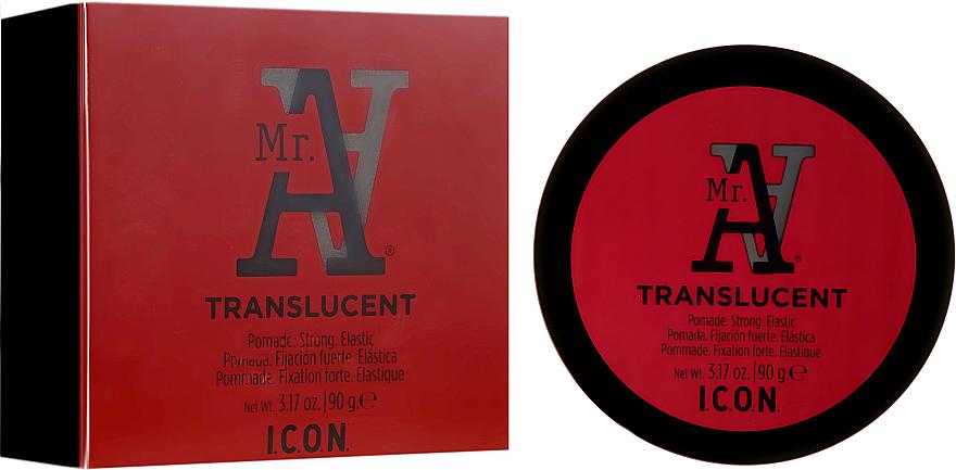 PRZECENA! Mocna pomada elastyczna do stylizacji włosów - I.C.O.N. MR. A. Transclucent Pomade Strong Elastic * — фото N1