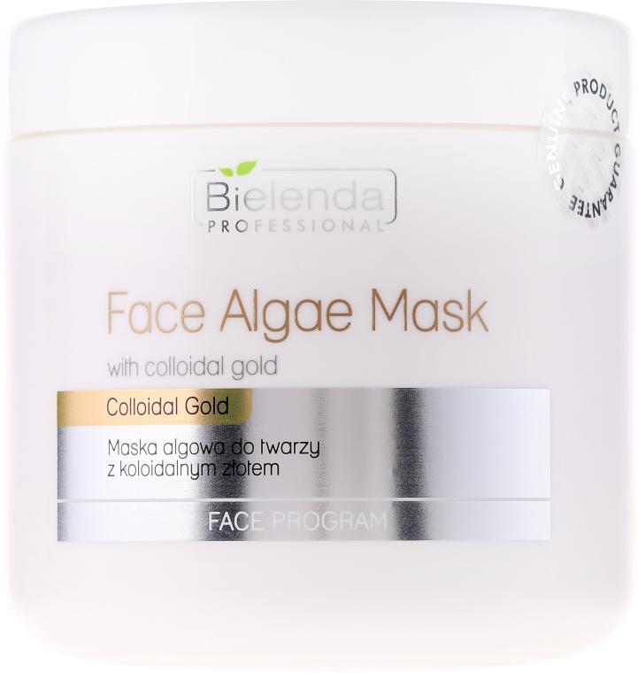Maska algowa do twarzy z koloidalnym złotem - Bielenda Professional Face Algae Mask