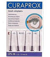 Kup Szczoteczki międzyzębowe do implantów, CPS 28, 5 szt - Curaprox Strong Implant