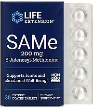 Kup Suplement diety SAMe, 200 mg - Life Extension SAMe