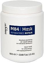 Kup Maska regenerująca do włosów farbowanych z hydrolizowaną keratyną - Dikson M84 Repair Mask