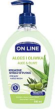 Kup Mydło w płynie do rąk Aloes i oliwka - On Line
