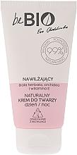 Kup Nawilżający krem do twarzy - BeBio Natural Day/Night Moisturizing Face Cream