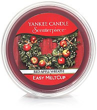 Kup Wosk zapachowy - Yankee Candle Red Apple Wreath Scenterpiece Melt Cup