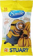 Kup Chusteczki nawilżane dla dzieci Minionki, 15 szt. - Smile Ukraine Baby