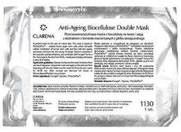Kup Odmładzająca maska do twarzy - Clarena Anti Age Line Anti-Age Biocellulose 2-Patch Facial Mask