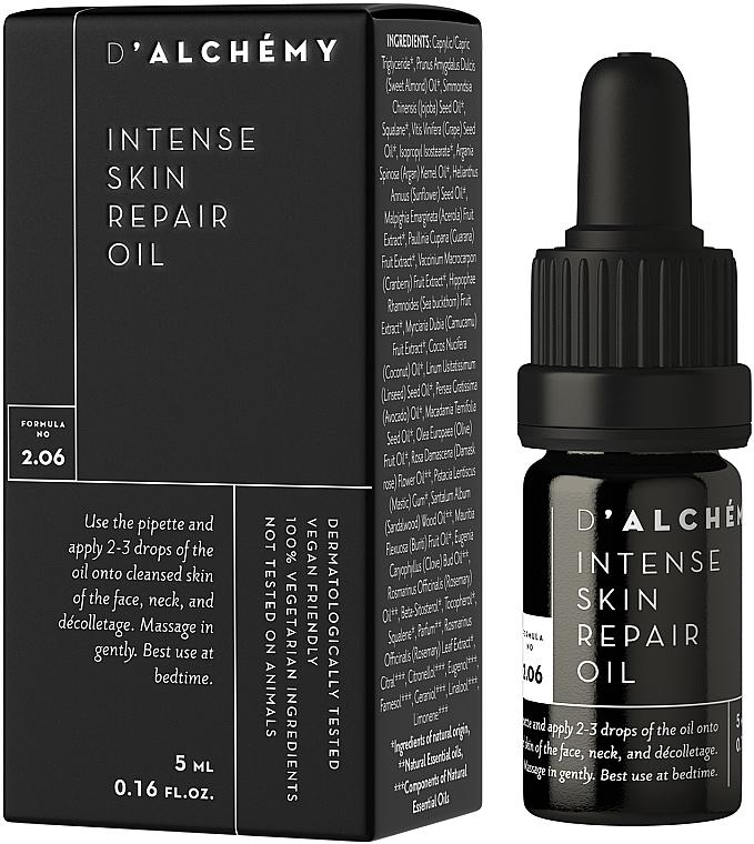 Intensywnie regenerujący olejek do twarzy - D'Alchemy Intense Skin Repair Oil