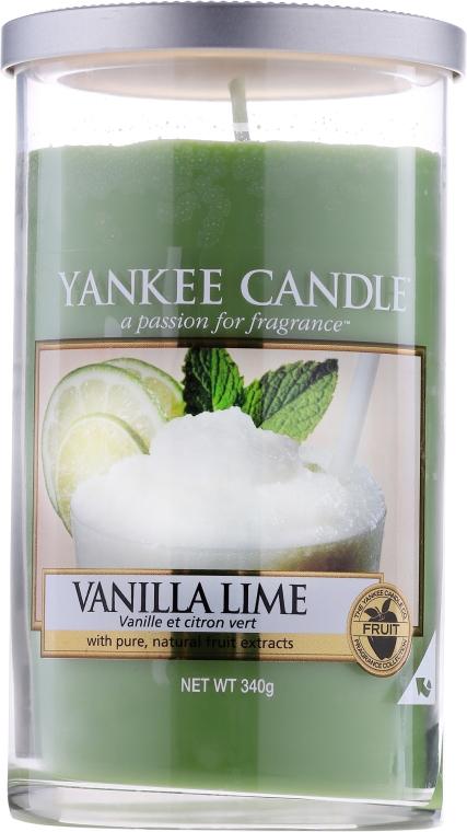 Świeca zapachowa pilar Wanilia i limonka - Yankee Candle Vanilla Lime — фото N1