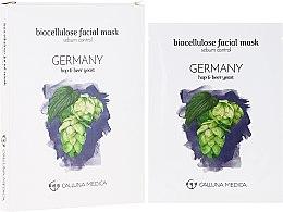 Kup Maska w płachcie z bionanocelulozy do twarzy do skóry tłustej i mieszanej - Calluna Medica Germany