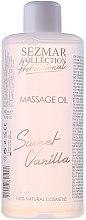 Kup Olejek do masażu Słodka wanilia - Sezmar Collection Professional Massage Oil Sweet Vanilla