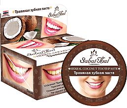 Kup Pasta do zębów z kokosem - Sabai Thai Herbal Coconut Toothpaste
