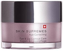 Kup Krem do pielęgnacji skóry wokół oczu i ust - Artemis of Switzerland Skin Supremes Age Correcting Eye & Lip Contour Care