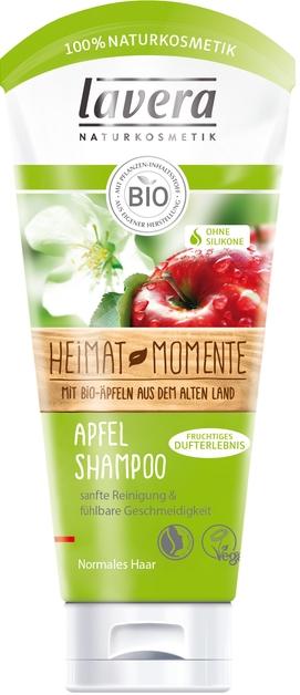 Szampon do włosów normalnych z wyciągiem z biojabłek - Lavera Apfel Shampoo