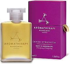 Olejek do kąpieli i pod prysznic - Aromatherapy Associates Inner Strength Bath & Shower Oil — фото N1