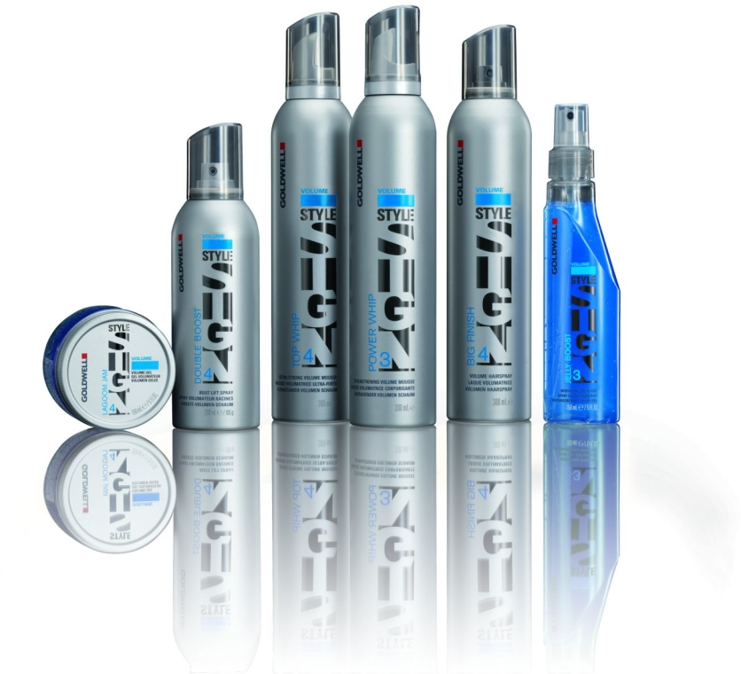 Spray zwiększający odbicie włosów u nasady - Goldwell StyleSign Volume Double Boost Root Lift Spray — фото N2