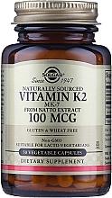 Kup Suplement diety Witamina K2 100 mcg - Solgar Vitamin K2 (MK-7)