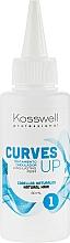 Kup Preparat do trwałej ondulacji włosów naturalnych - Kosswell Professional Curves Up 1