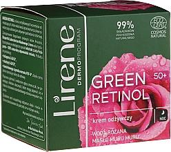 Kup Odżywczy krem do twarzy na noc 50+ - Lirene Green Retinol Night Cream 50+