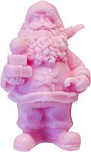 Kup PRZECENA! Naturalne mydło ręcznie robione o zapachu wiśniowym Św. Mikołaj z prezentami - LaQ Happy Soaps *