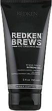 Kup Stylizujący żel do włosów dla mężczyzn - Redken Brews Stand Tough Extreme Gel