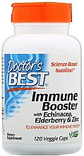 Kup Suplement wzmacniający odporność z jeżówką, czarnym bzem i cynkiem w kapsułkach - Doctor's Best