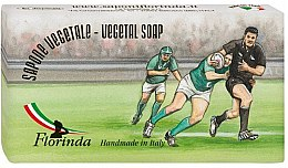 Kup Naturalne mydło w kostce Rugby - Florinda Sapona Vegetale Sport & Spezie Vegetal Soap Handmade