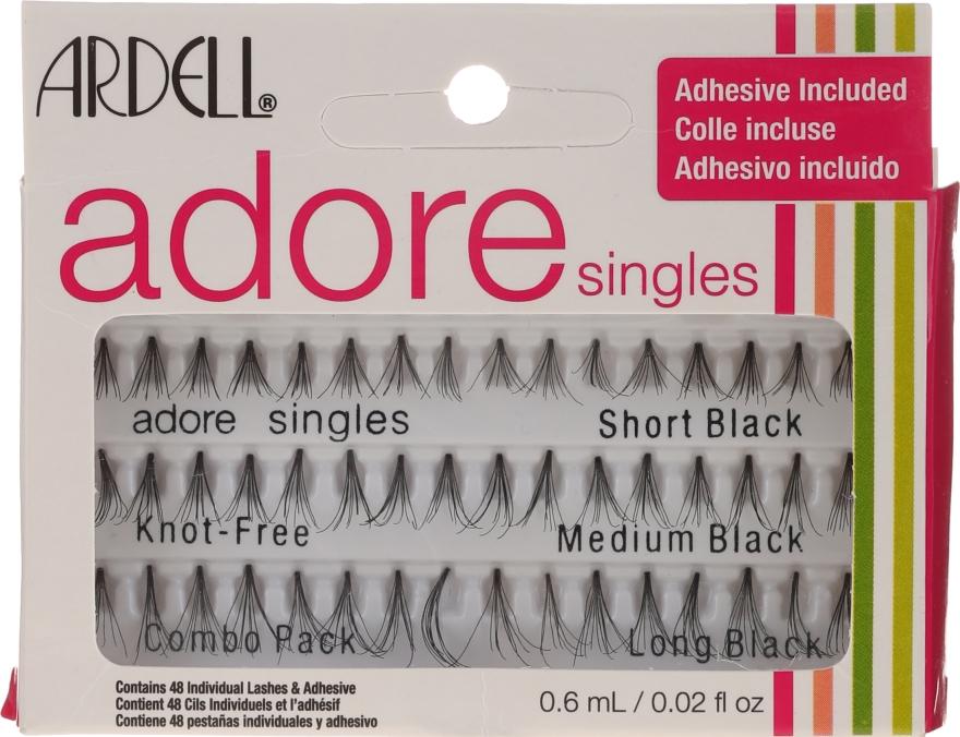 Kępki rzęs bez węzełków - Ardell Adore Singles