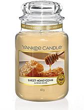 Kup Świeca zapachowa w słoiku Słodki miód - Yankee Candle Sweet Honeycomb