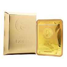 Kup Maseczka w płachcie ze złotem i ekstraktem ze ślimaka - Elizavecca 24k Gold Water Dew Snail Mask