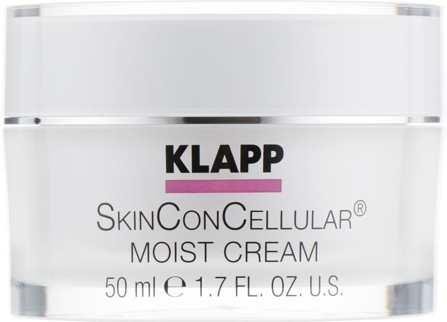 Nawilżajacy krem do twarzy - Klapp Skin Con Cellular Moist Cream — фото N1